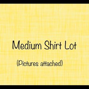 Medium Blouse/Button Up Lot (7 items-see pics)